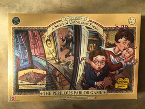 Series of Unfortunate Events Board Game for Sale in Raleigh, NC