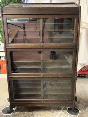 3 Section Oak File Cabinet for Sale in Wheeling, WV