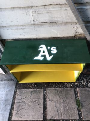 Oakland A's Bookshelf for Sale in San Francisco, CA