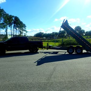 Dumpster Trailer 14x7 for Sale in Lake Mary, FL