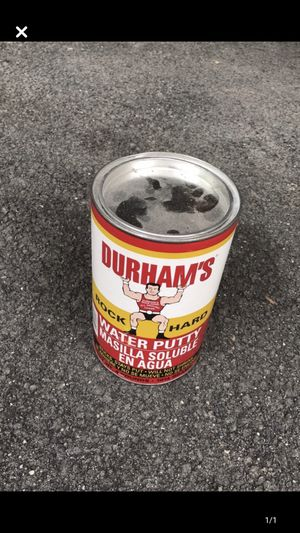 3, 4 lbs each containers of Durham's Wood Repair for Sale in Charlottesville, VA