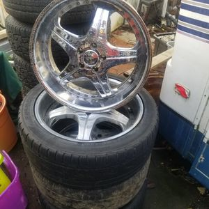"Set (4) 20"" Inch Rims for Sale in Aberdeen, WA"