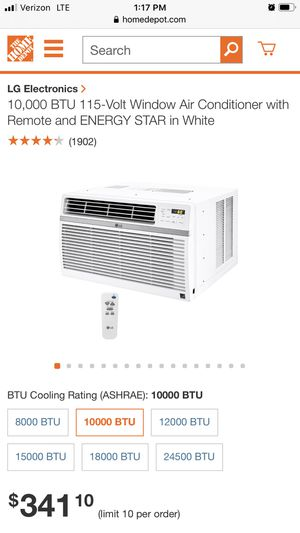 Brand new air conditioner 10 ,000 btu for Sale in Annandale, VA