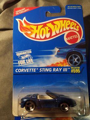 Hot Wheels Corvette Stingray III for Sale in Newburgh, IN