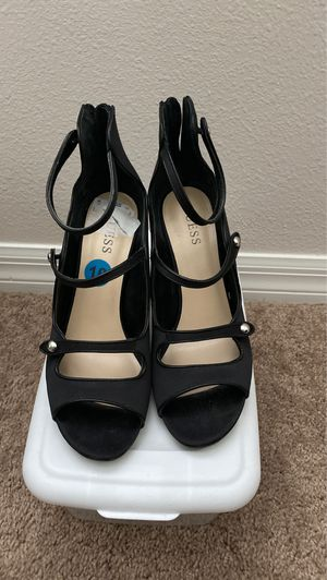 Guess black and silver heels for Sale in St. Cloud, FL