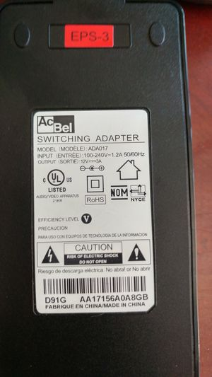 Laptop power adapter for Sale in Portland, OR