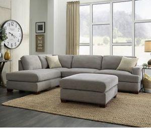 Bainbridge Sinclair Fabric Sectional with Ottoman- NEW for Sale in Phoenix, AZ