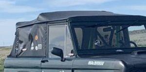 1966-1977 Bronco parts. Soft top, windshield, 2 side windows for Sale in Clovis, CA
