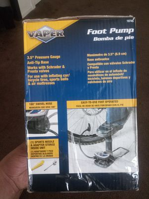 Vaper foot pump for Sale in Downey, CA