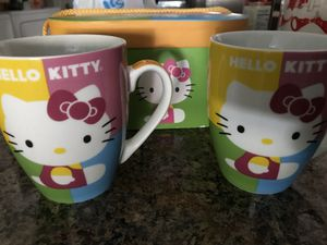 Hello Kitty Cups Set of 2 for Sale in Miromar Lakes, FL