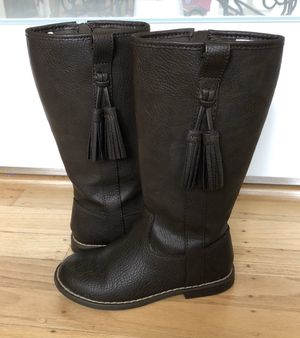 GAP girls tall brown boots size 12 for Sale in Mill Valley, CA