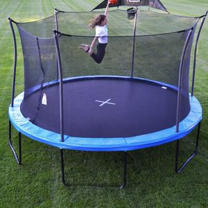 Propel trampoline 14' basketball hoop heavy duty new pro trampoline for Sale in Fontana, CA