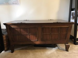 Coffee table/blanket storage and matching end table for Sale in Seattle, WA