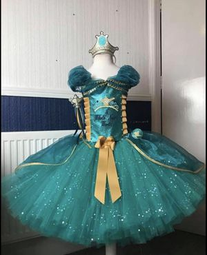 Elegant Princess Jasmine, dress size 6yrs-10yrs old for Sale in Kissimmee, FL