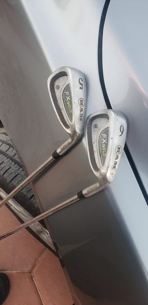 Fx gold stainless golf club for Sale in Oakland Park, FL