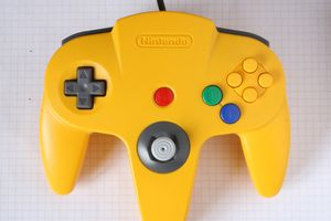 N64 controller OEM yellow for Sale in Fairfax, VA