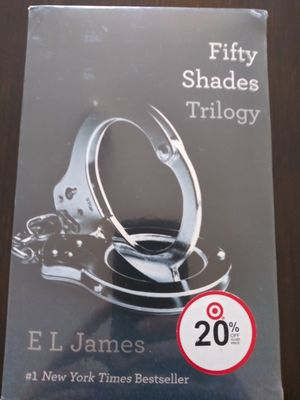 Fifty shades trlogy for Sale in Bedford, TX