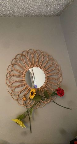 Flower mirror for Sale in Spring,  TX