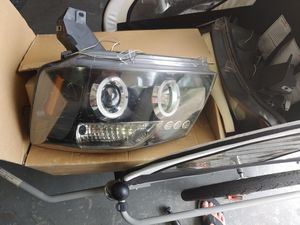 Nissan titan headlights led angle eyes for Sale in NEW PRT RCHY, FL