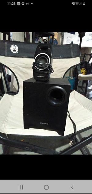 Creative subwoofer and speaker set for Sale in Henderson, NV