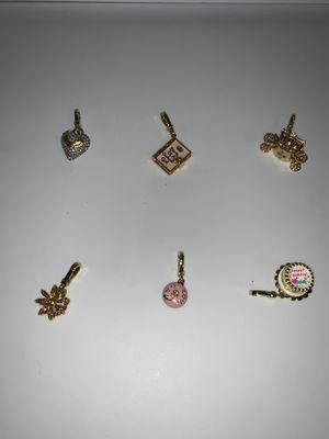 Juicy couture bracelet charms for Sale in Wayne, NJ