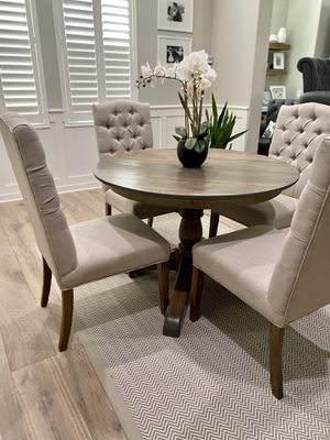Solid wood pottery barn like kitchen table for Sale in La Costa, CA