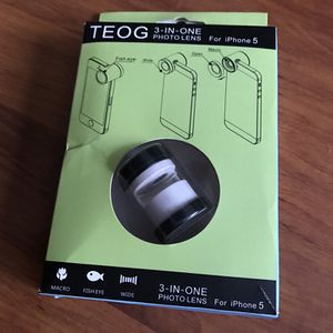 Fish eye lens for iPhone 5/5s/5se for Sale in Daly City, CA