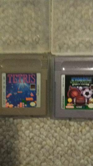 Nintendo Gameboy Games: Tetris, Jeopardy Sports edition for Sale in Elkridge, MD