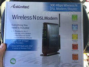 Actiontec DSL modem for Sale in Portland, OR
