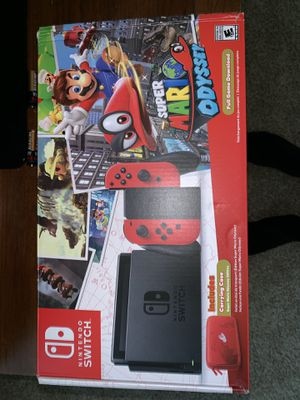 Nintendo Switch Super Mario Odyssey Edition for Sale in Euless, TX