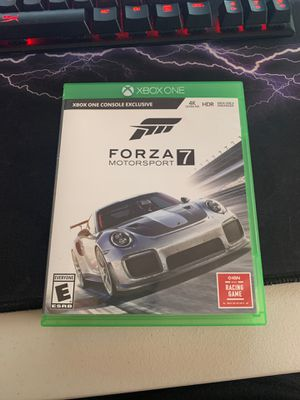 Forza 7 for Xbox One for Sale in Dublin, OH