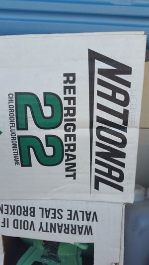 R22 freon refrigerant r-22 hvac freon for Sale in Phoenix, AZ