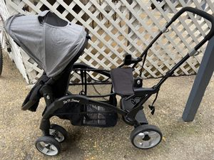BABY TREND SIT AND STAND SNAP FIT DOUBLE STROLLER for Sale in Dallas, TX