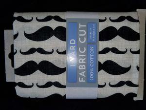 Mustache fabric for Sale in Dixon, MO