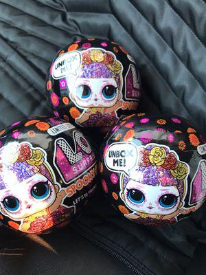 LOL Surprise spooky Glitter (Halloween Dolls)🎃 LIMITED EDITION for Sale in Arlington, TX