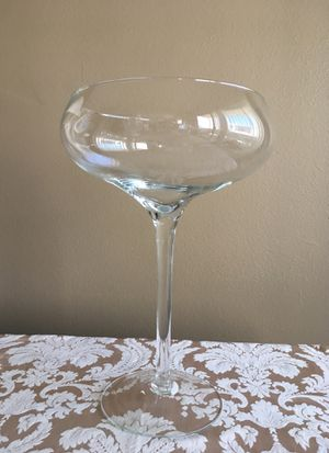 Extra Large Wine Glass Decoration for Sale in Los Angeles, CA