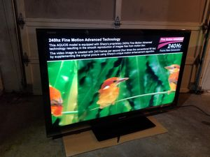 Sharp Aquos 60 inch LCD TV for Sale in Seattle, WA