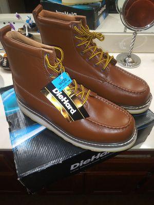 Surtrak6 work boots Diehard size 13w for Sale in Moreno Valley, CA