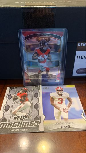 Calvin Ridley rookie card lot of 3 for Sale in Olympia, WA