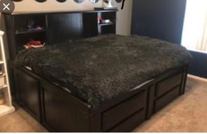 Full size captain's bed for Sale in Young, AZ