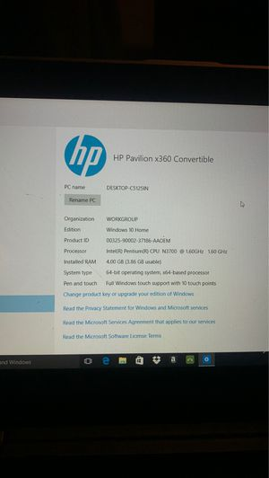 Like new HP notebook for Sale in Rock Hill, SC