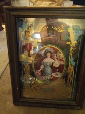 NEW PRICE Antique PepsiCo glass mirror VINTAGE 1973 ORIGINAL for Sale in Philadelphia, PA