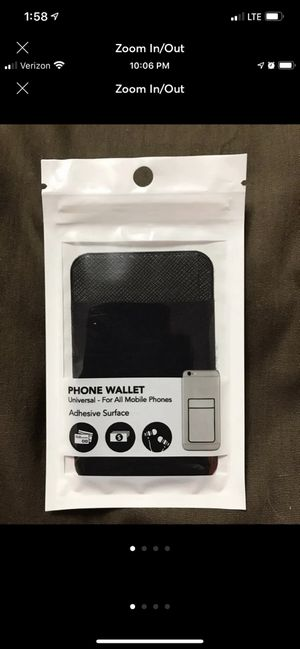 Black Phone Wallet for Sale in Sioux Falls, SD