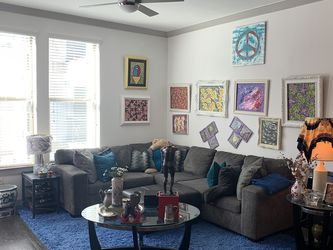 Grey Chenelle Sectional Sofa for Sale in Rowlett,  TX