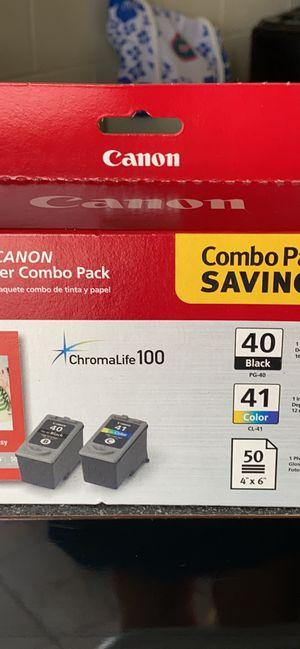 Genuine Canon 40/41 inks. for Sale in Sebastian, FL