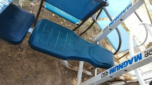 Old school Bench press w/ weights for Sale in Phoenix, AZ