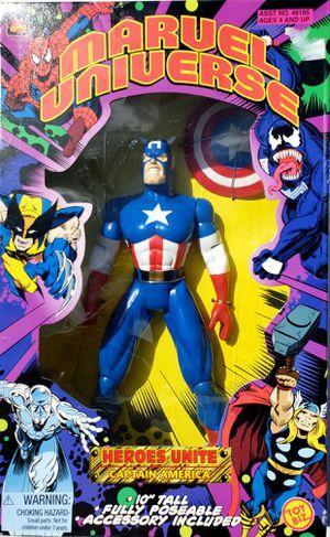 """Captain America 10"""" 1997 Toy Biz for Sale in Montebello, CA"""