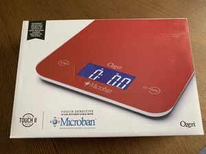 Ozeri Touch II kitchen scale with Antimicrobial Protection - Brand new for Sale in Boston, MA