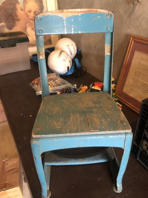 Antique FAO Schwartz Toy store children's chair $25 for Sale in Miami, FL