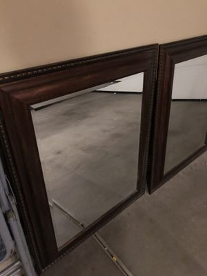 Framed Mirrors-Pair for Sale in El Mirage, AZ